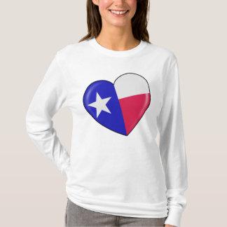 I Liebe Texas - Herz des patriotischen Texan T-Shirt