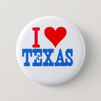 I Liebe Texas Runder Button 5,1 Cm