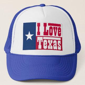 I Liebe Texas Truckerkappe