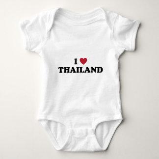 I Liebe Thailand Baby Strampler