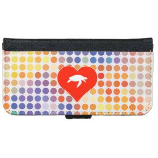 I Liebe-Tier iPhone 6/6s Geldbeutel Hülle