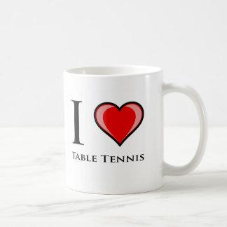 I Liebe-Tischtennis Kaffeetasse