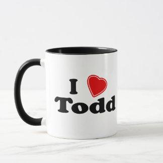I Liebe Todd Tasse