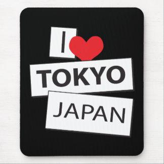 I Liebe Tokyo Japan Mousepad