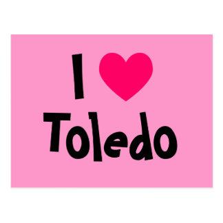 I Liebe Toledo Postkarte