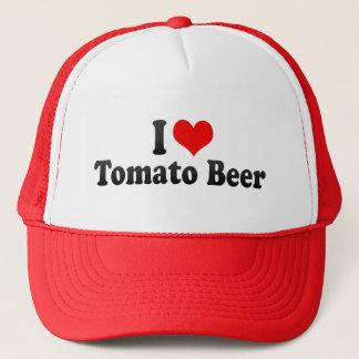 I Liebe-Tomate-Bier Truckerkappe