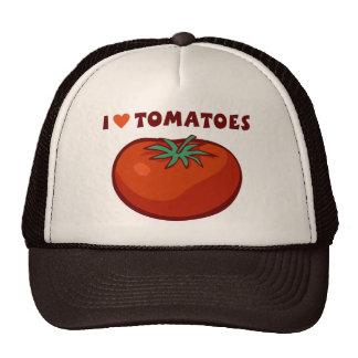 I Liebe-Tomaten Retromützen