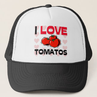 I Liebe-Tomaten Truckerkappe