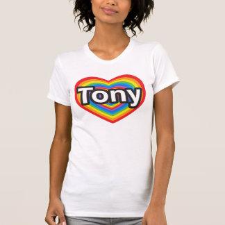 I Liebe Tony. Liebe I Sie Tony. Herz T-Shirt