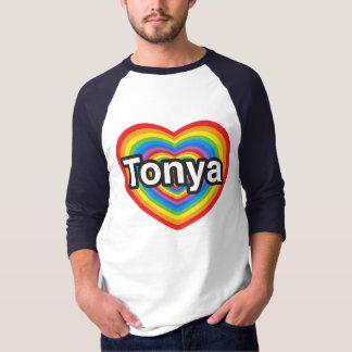 I Liebe Tonya. Liebe I Sie Tonya. Herz T-Shirt