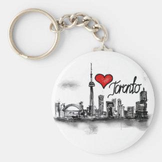 I Liebe Toronto Schlüsselanhänger
