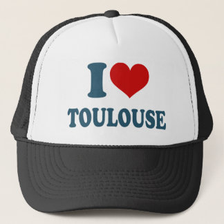 I Liebe Toulouse Truckerkappe