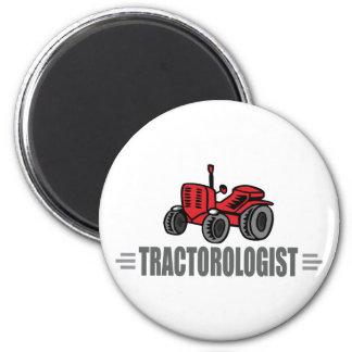 I Liebe-Traktoren Runder Magnet 5,7 Cm