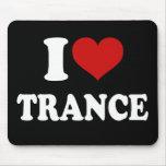 I Liebe-Trance Mousepads