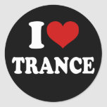 I Liebe-Trance Stickers