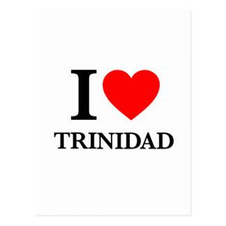 I Liebe Trinidad Postkarte