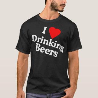 I Liebe-trinkende Biere T-Shirt