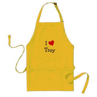 I Liebe Troja Schürze