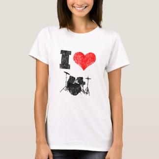 I Liebe-Trommeln T-Shirt