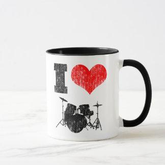 I Liebe-Trommeln Tasse