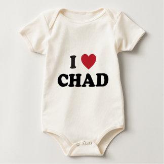 I Liebe Tschad Baby Strampler