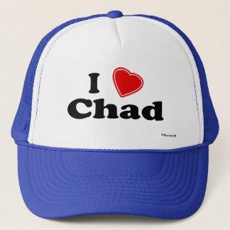 I Liebe Tschad Truckerkappe