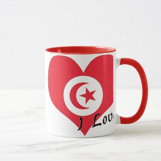 I Liebe Tunesien Tasse