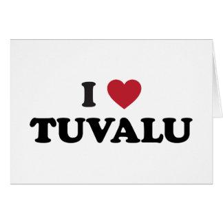 I Liebe Tuvalu Karte