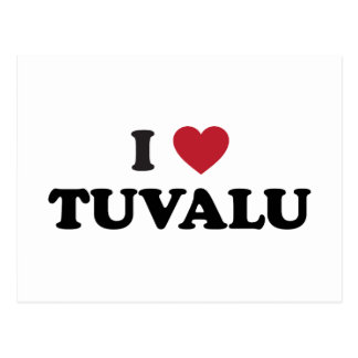 I Liebe Tuvalu Postkarte