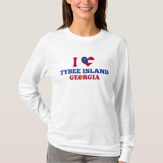 I Liebe Tybee Insel, Georgia T-Shirt