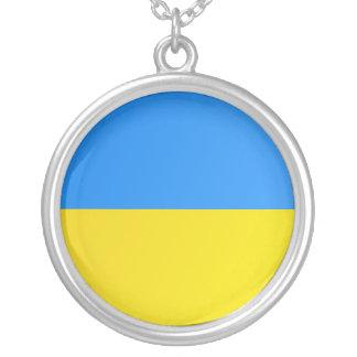 I Liebe-Ukraine-Halskette - Flagge