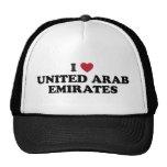 I Liebe United Arab Emirates Mützen
