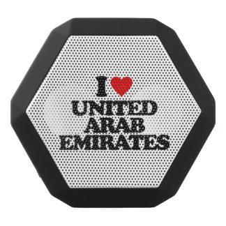 I LIEBE UNITED ARAB EMIRATES SCHWARZE BLUETOOTH LAUTSPRECHER