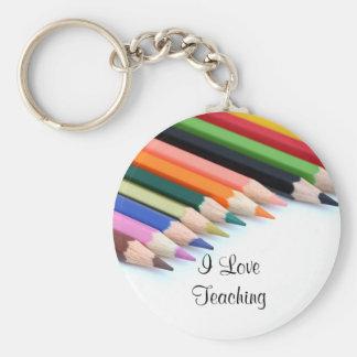 I Liebe-Unterrichten Schlüsselanhänger