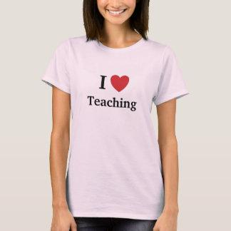 I Liebe-unterrichtende unterrichtende Lieben ich T-Shirt