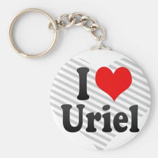 I Liebe Uriel Schlüsselanhänger