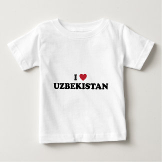 I Liebe Usbekistan Baby T-shirt