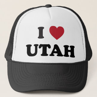 I Liebe Utah Truckerkappe