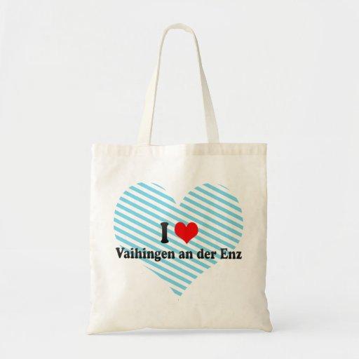 I Liebe Vaihingen ein der Enz, Deutschland Einkaufstaschen