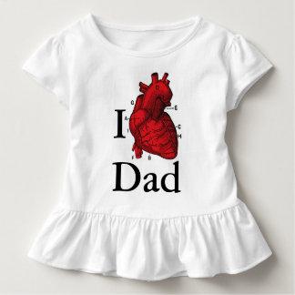 I Liebe-Vati Kleinkind T-shirt