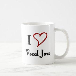 I Liebe-vernehmbarer Jazz Kaffeetasse