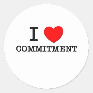 I Liebe-Verpflichtung Sticker