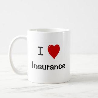 I Liebe-Versicherung - Versicherungs-Lieben ich Kaffeetasse