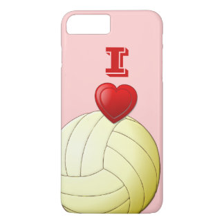 I LIEBE-VOLLEYBALL iPhone 7 Plusfall iPhone 8 Plus/7 Plus Hülle