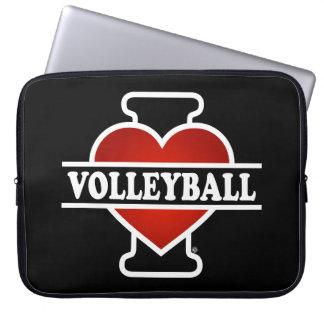 I Liebe-Volleyball Laptopschutzhülle