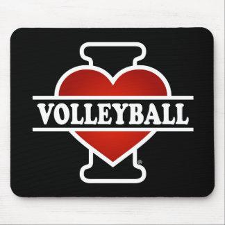 I Liebe-Volleyball Mauspads