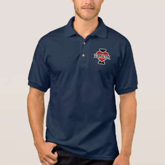 I Liebe-Volleyball Polo Shirt