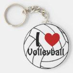 I Liebe-Volleyball Schlüsselbänder
