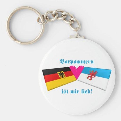 I Liebe Vorpommern ist-MIR lieb Schlüsselband