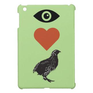 I Liebe-Wachteln iPad Mini Hülle